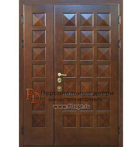 Двери металлические тамбурные или входные двустворчатые