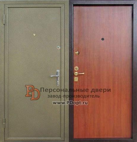 дверь металлическая из новостройки