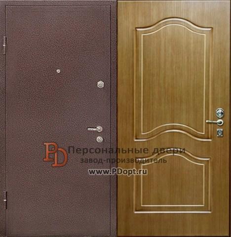Недорогие и практичные стальные двери, окрашенные порошком